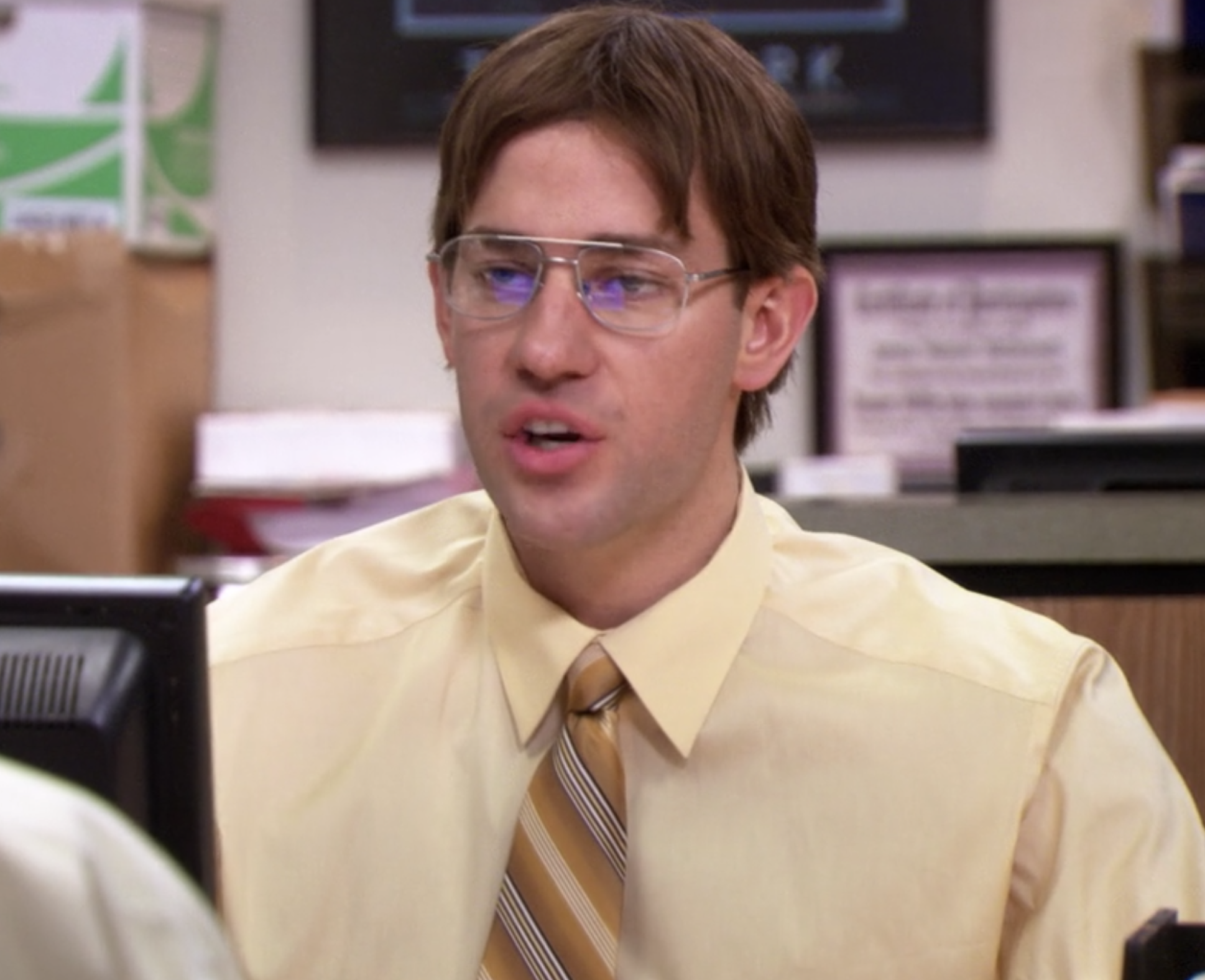 Jim dressed as Dwight