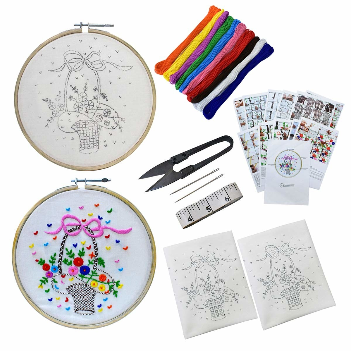 An embroidery kit