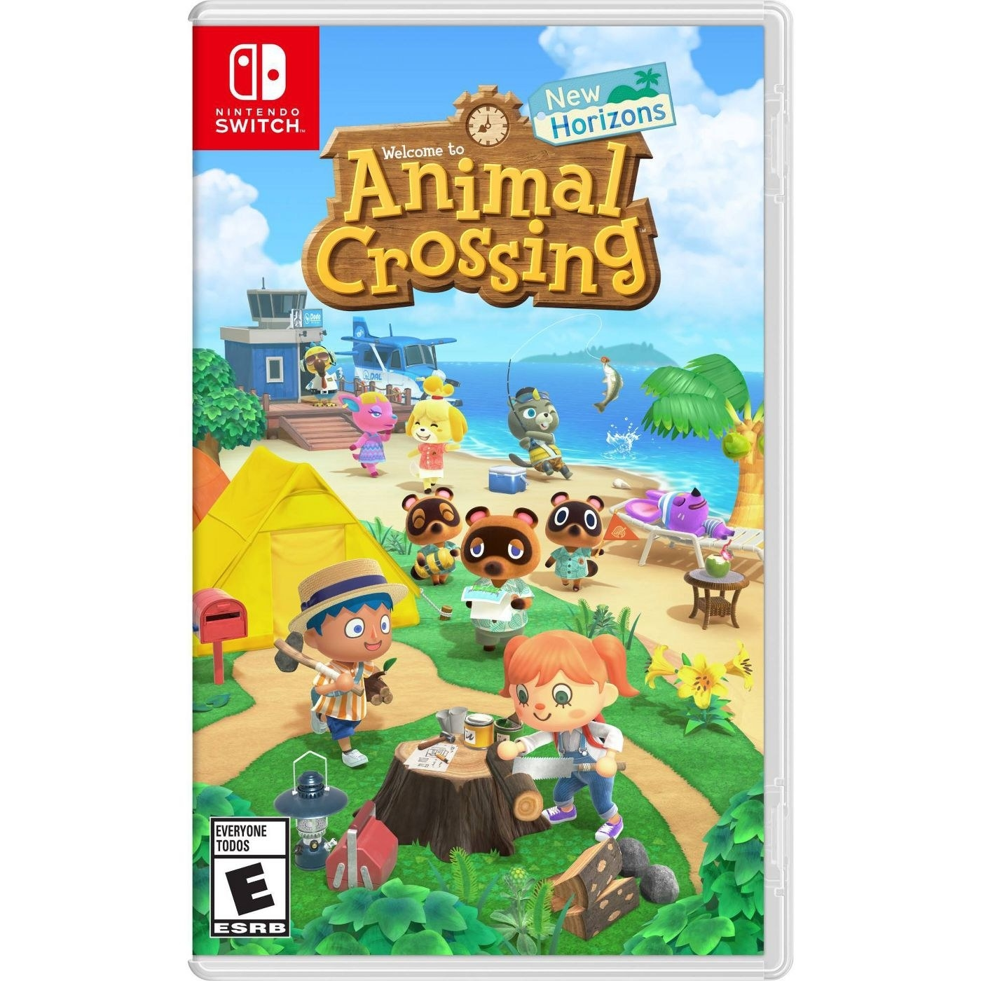 the cover of animal crossing