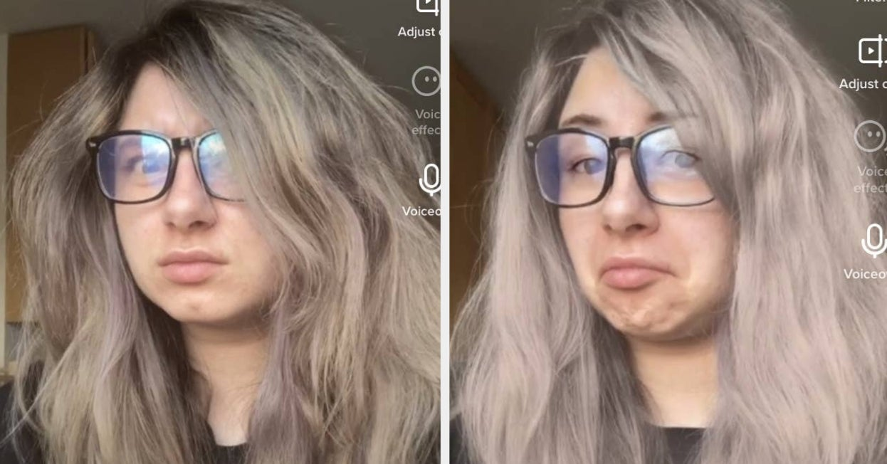 This Tiktok Hair Dye Effect Let S You Try A New Look