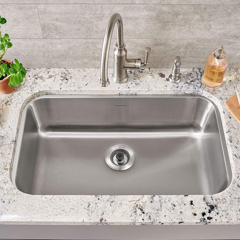 the silver SinkShroom in a sink
