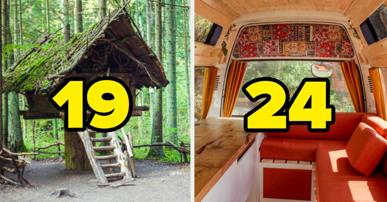 Design And Decorate A Tiny Home To Reveal Your True Emotional Age - buzzfeed