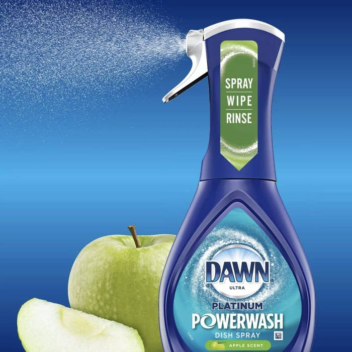 The Dawn dish-cleaning spray bottle