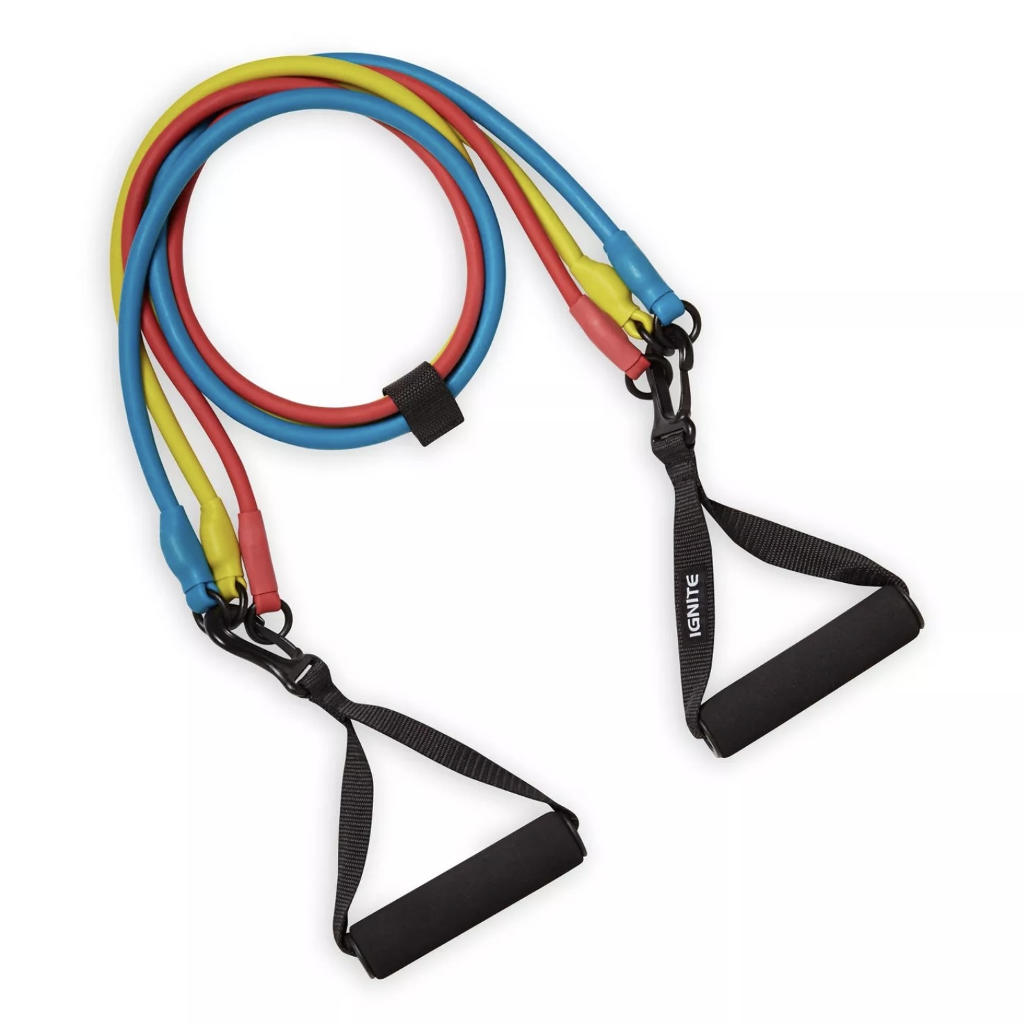 Three resistance bands