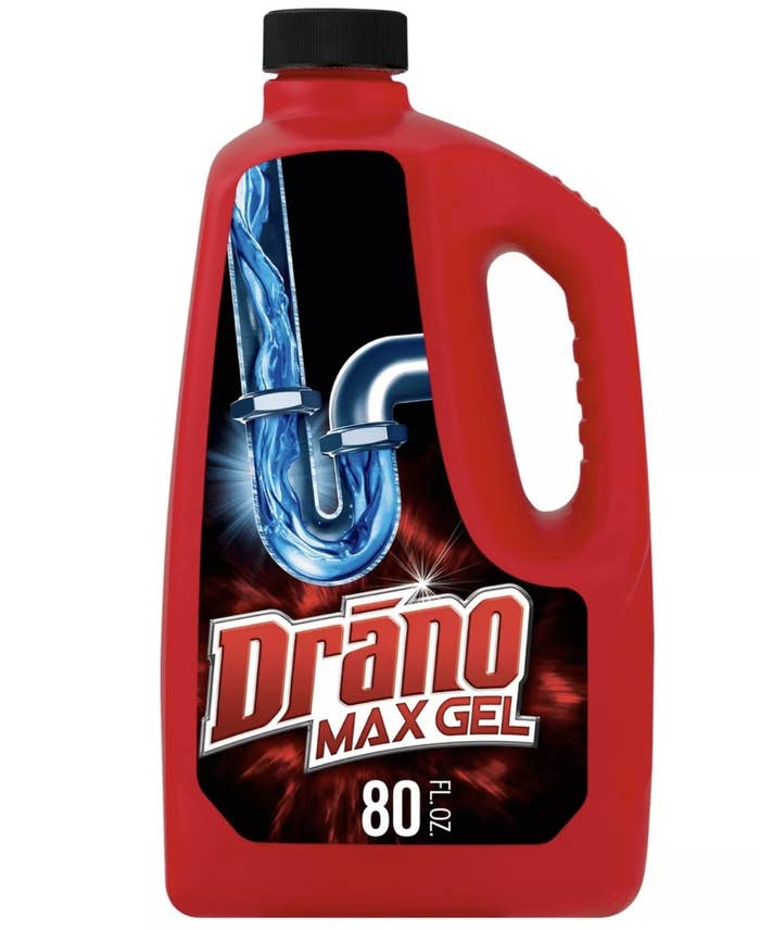 The Drano bottle