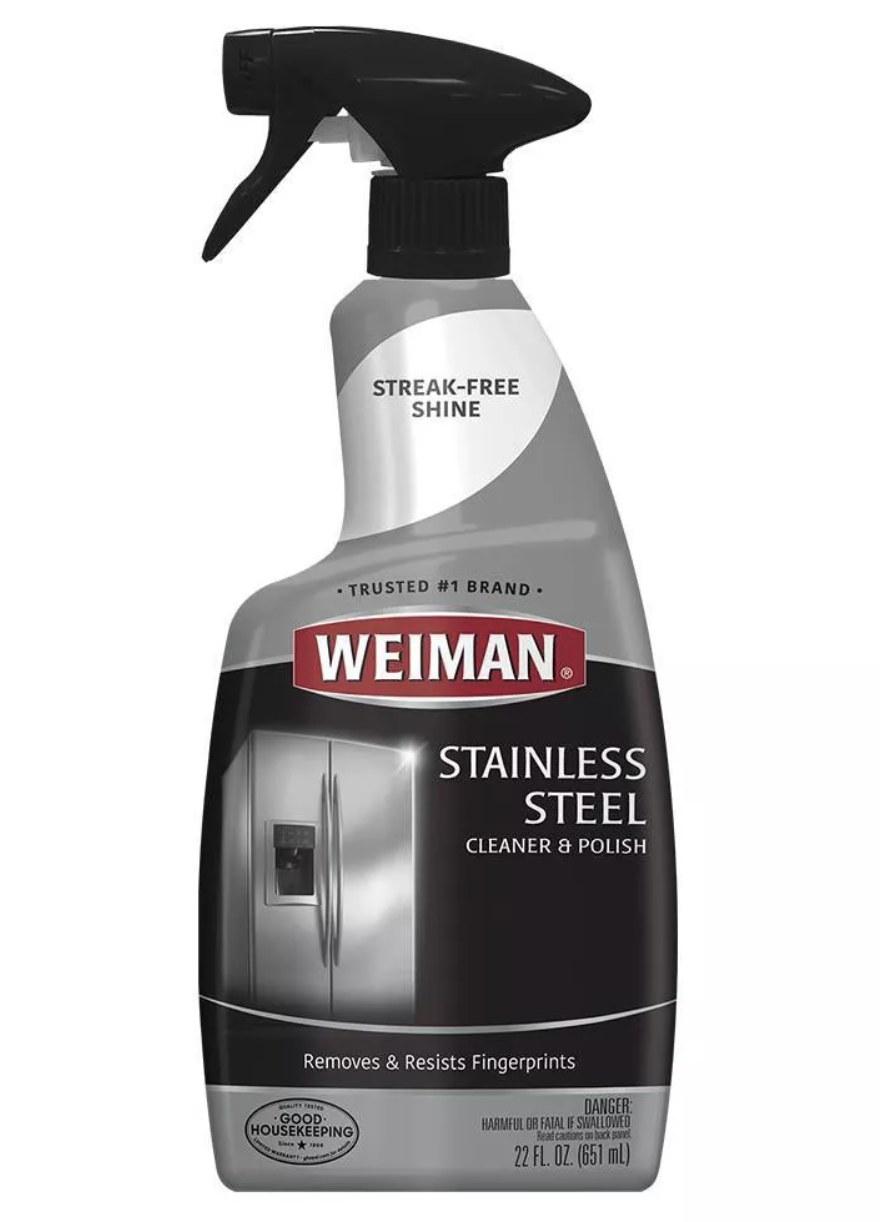 The stainless steel cleaner spray bottle