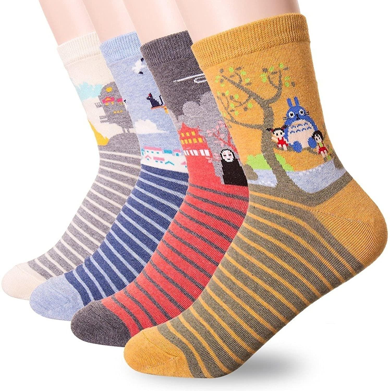 Four pairs of socks