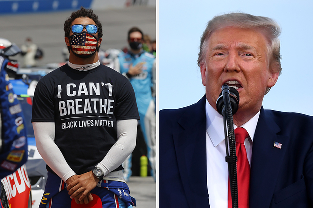 Bubba Wallace Called Out Hate From Trump After He Accused The NASCAR Driver Of A Noose Hoax