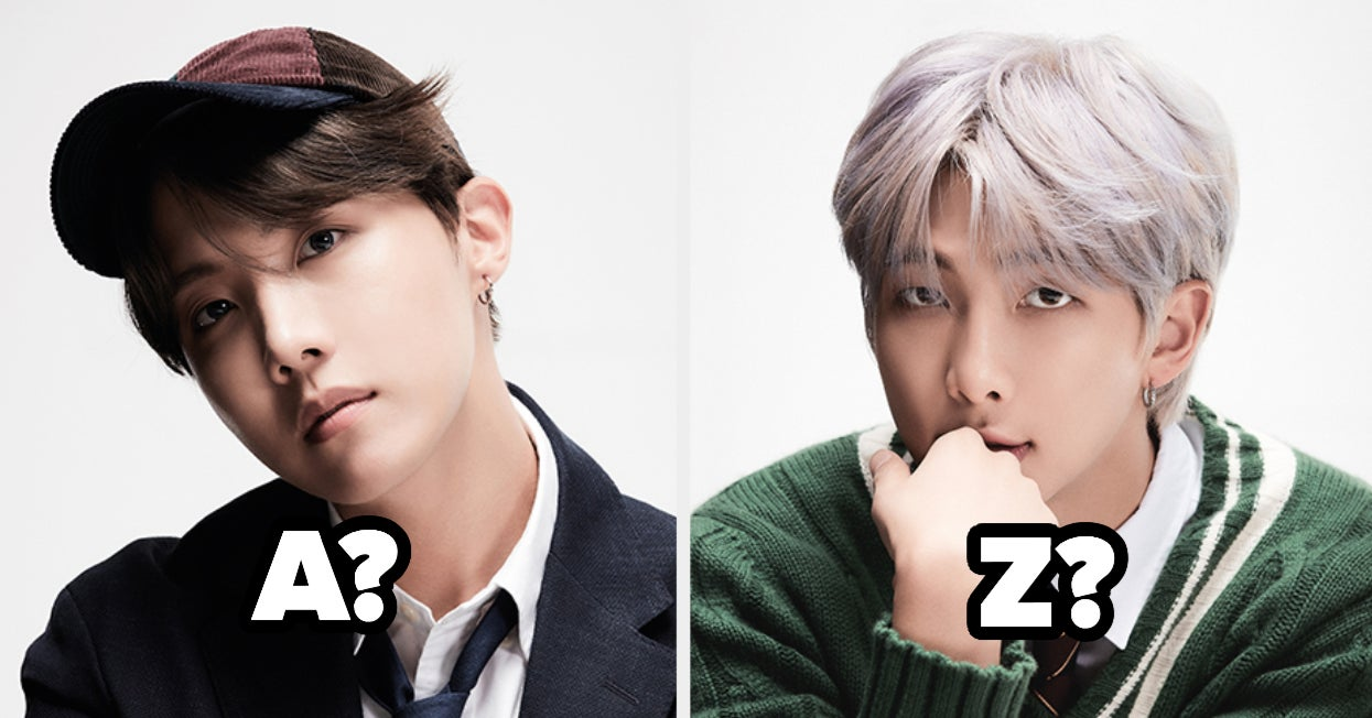 Which Member Of BTS Is Your Soulmate Based On The K-Pop Songs For Each Letter Of The Alphabet You Pick? - buzzfeed