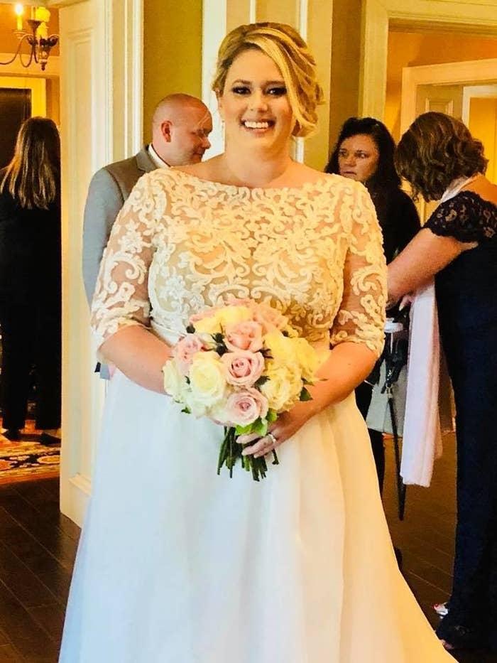 Wedding photo of Jen.