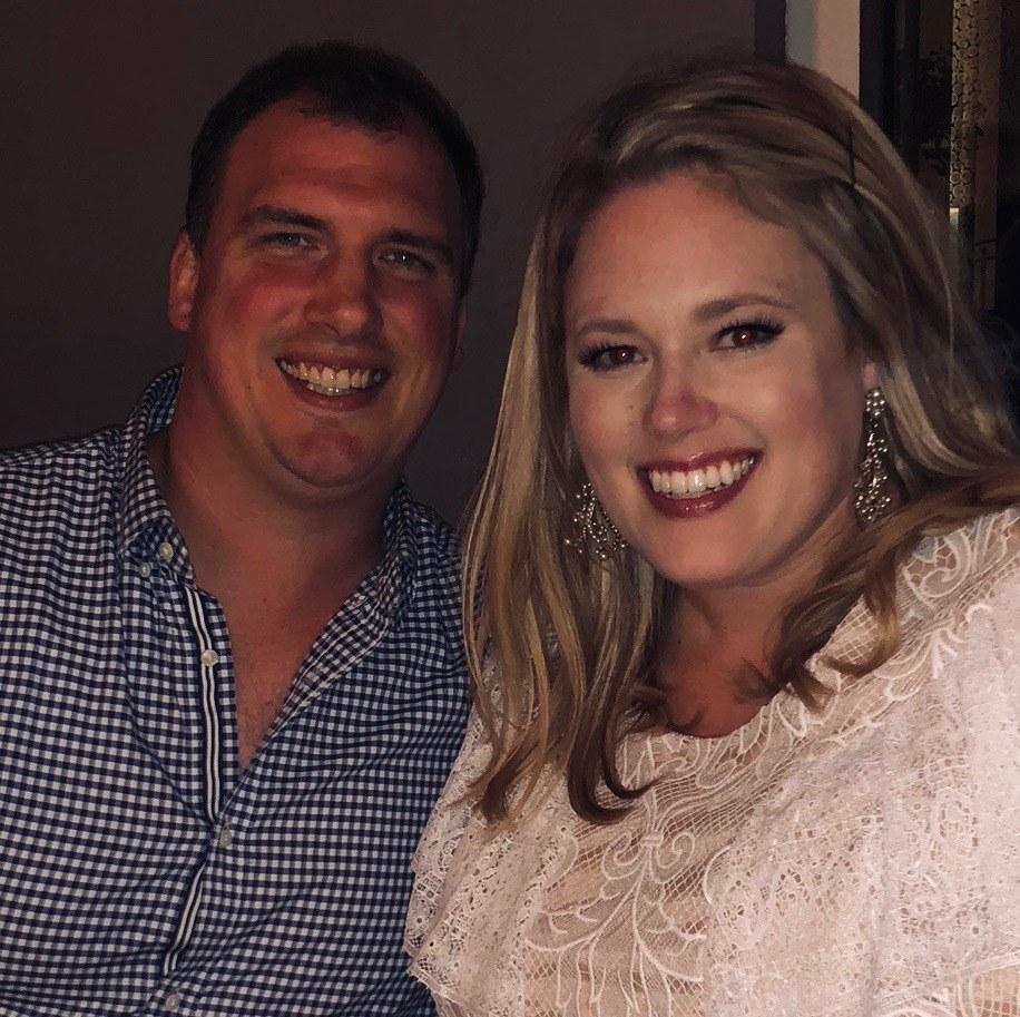 Photo of Jen and Bryan.