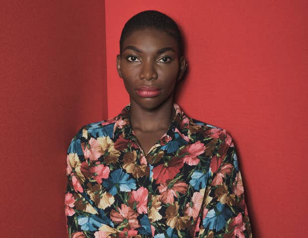 Michaela Coel posed for a profile photo.