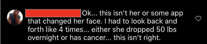 Screenshot of troll criticizing Chrissy Teigen.