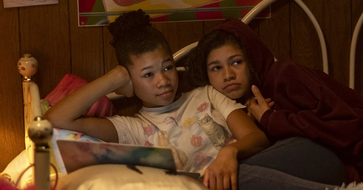 Storm Reid and Zendaya as Gia and Rue