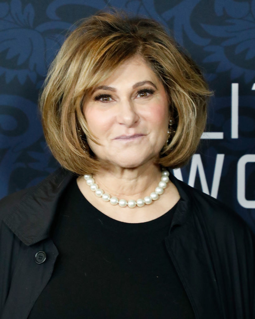 Amy Pascal on a red carpet