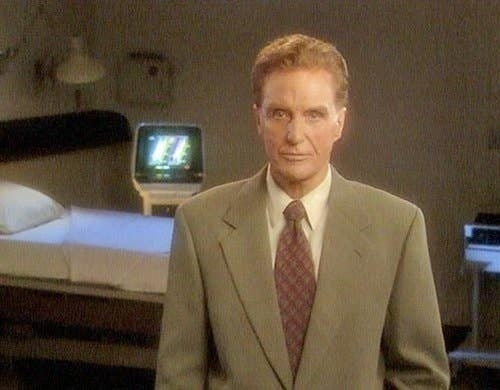 Robert Stack from the original series