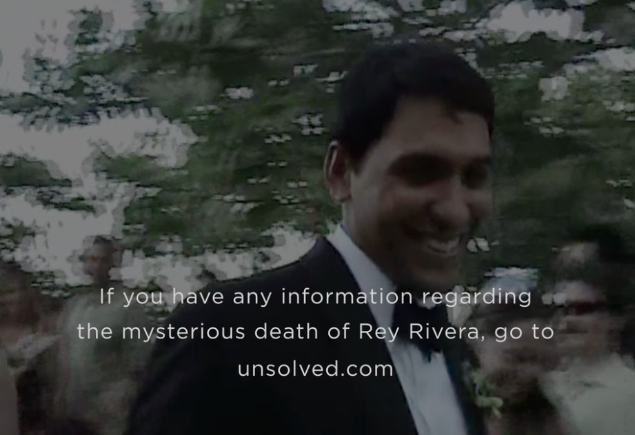 Go to unsolved.com if you have any info on Rey Rivera death