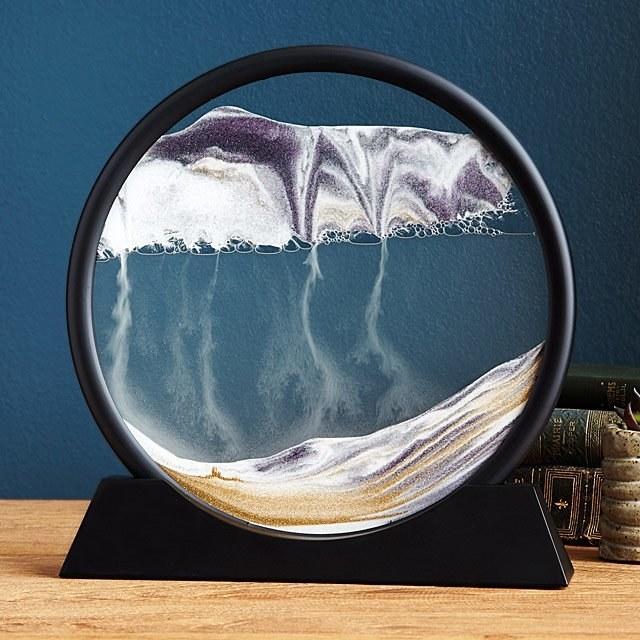 The deep sea sand art piece