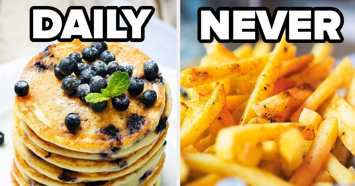 How Frequently You Eat These Foods Will Determine Your Exact Age - buzzfeed