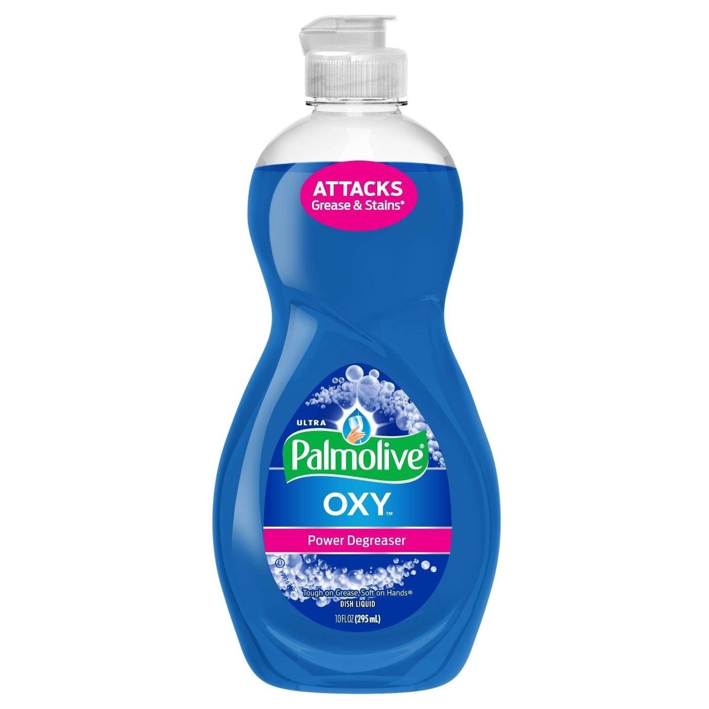 The dish soap bottle