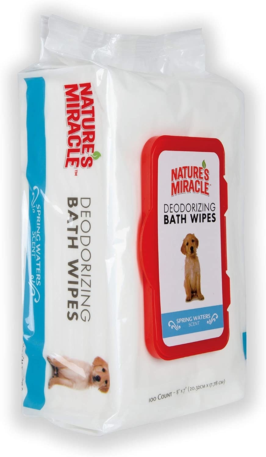 A pack of deodorizing bath wipes.