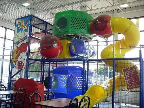 Colorful McDonald's Play Place