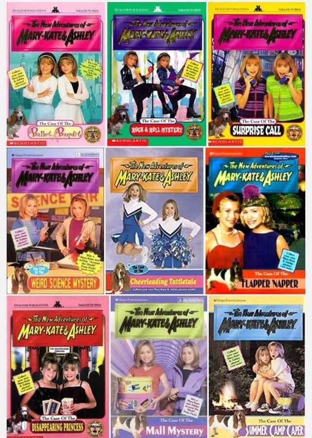 The New Adventures of Mary-Kate and Ashley novels