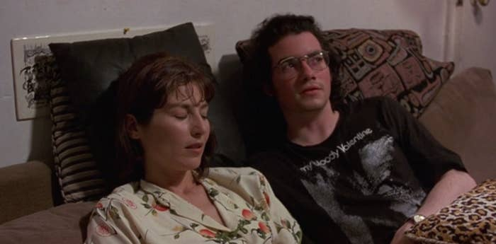 """Catherine Keener and Kevin Corrigan in """"Walking and Talking"""""""