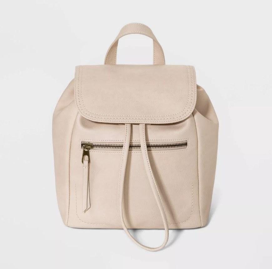 an off white mini backpack