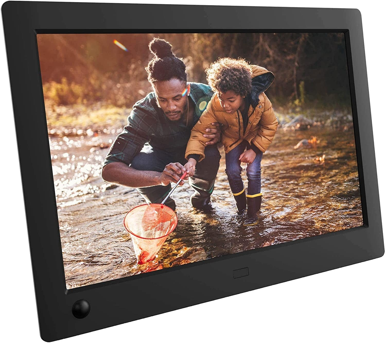 The rectangle photo frame in black
