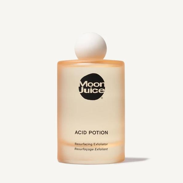 A bottle of Moon Juice Acid Potion.