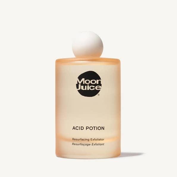 A bottle of Moon Juice Acid Potion