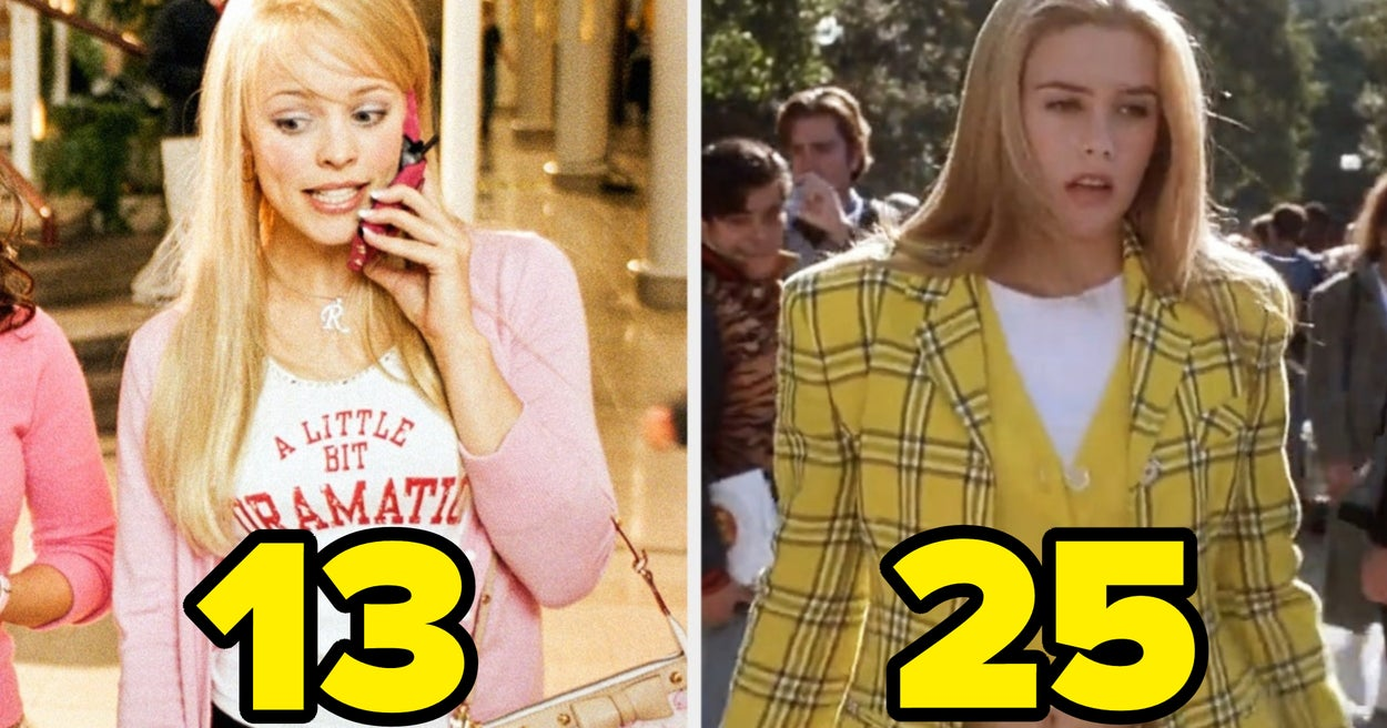 We Know How Old You Are Based On The Teen Movie Outfits You