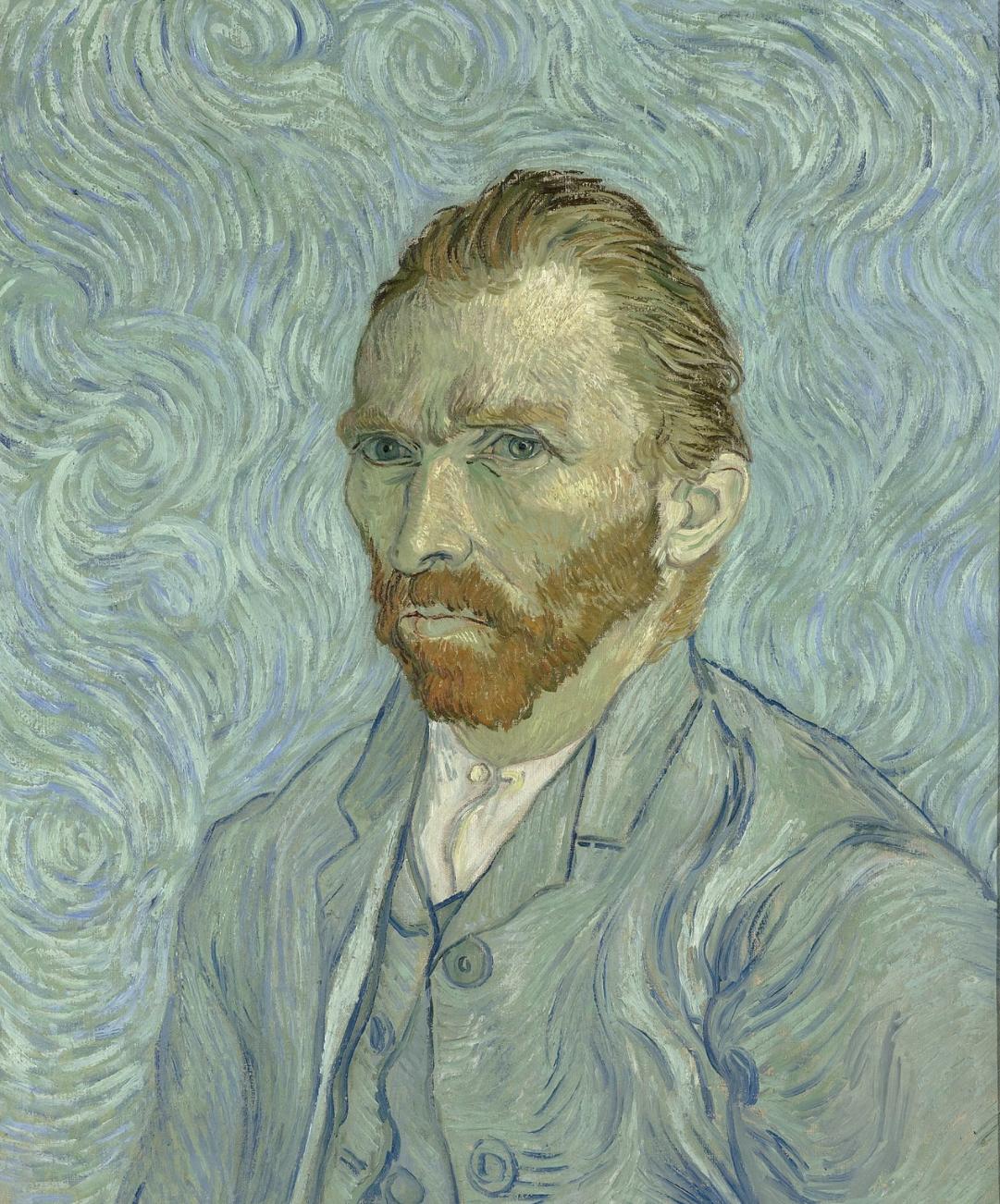 A self portrait by Vincent Van Gogh