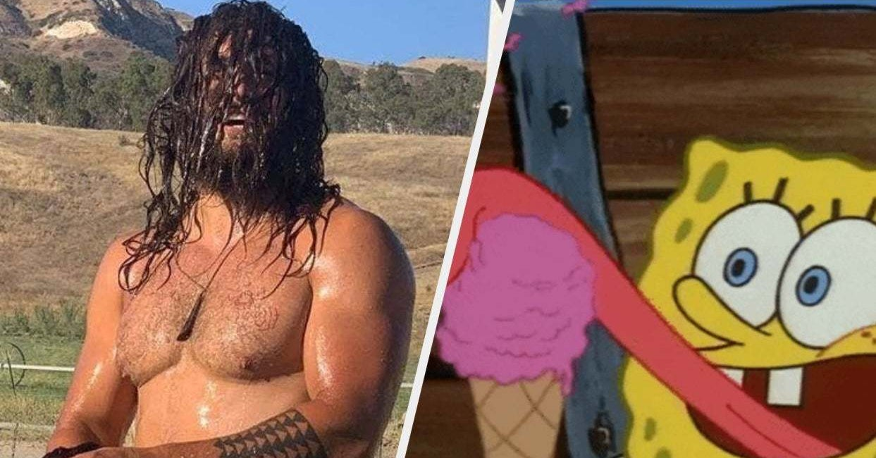 Jason Momoa Posted Shirtless Photos Of Himself Covered In Mud, And Somehow It's Still A Thirst Trap