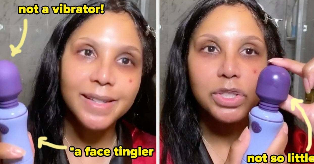 Toni Braxton Used A Vibrator On Her Face As A Beauty Hack And I'm Thoroughly Impressed By The Results