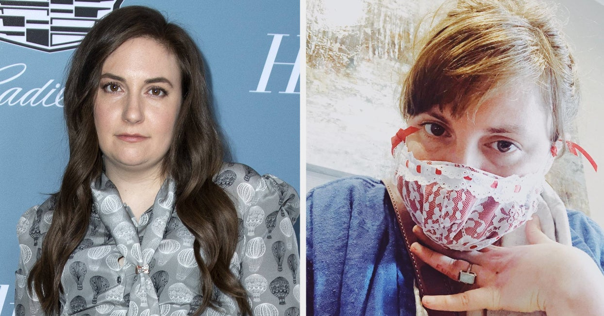 """Lena Dunham Said Her Body """"Revolted"""" After She Was Diagnosed With COVID-19"""