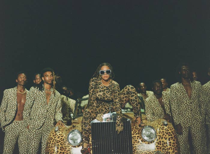"Beyoncé in ""Black Is King"""