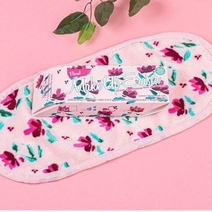 floral makeup eraser washcloth