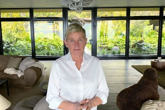 Ellen, who faces allegations of fostering a toxic workplace