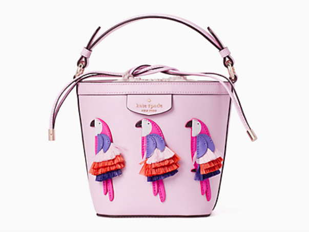 The Pippa Flock Party small bucket bag.