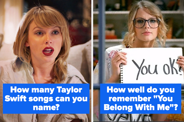 Taylor Swift Quiz List