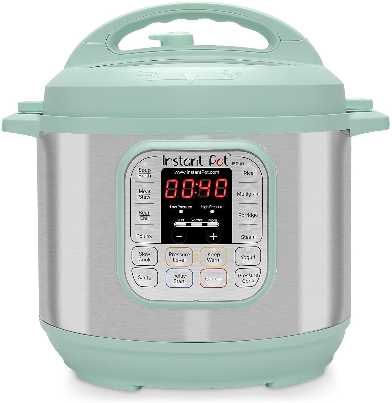 Instant Pot in teal