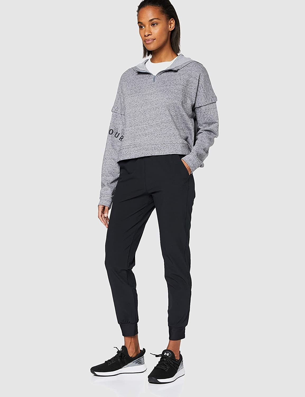 Model wearing cropped hoodie in gray