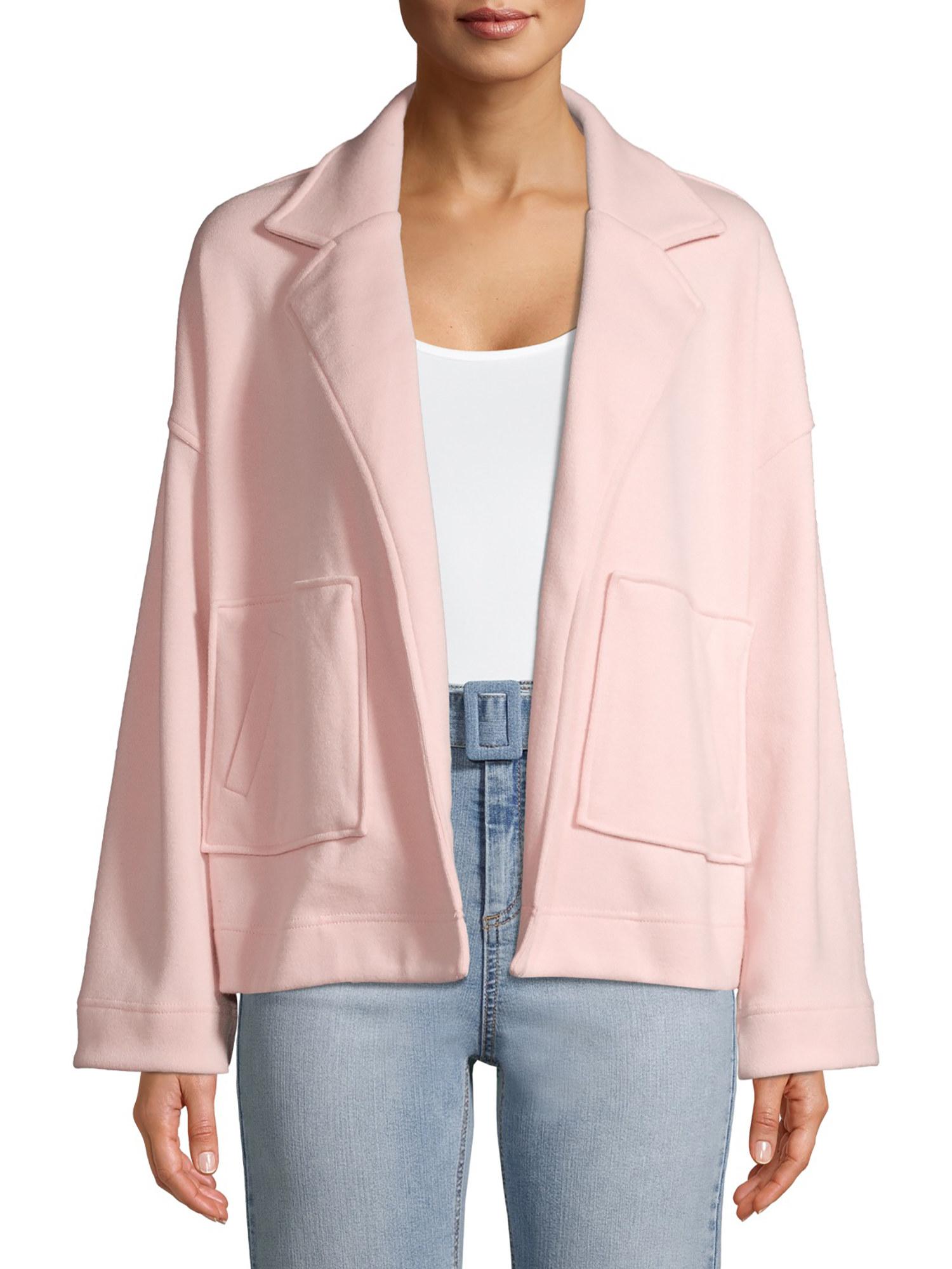 the coatigan in pink