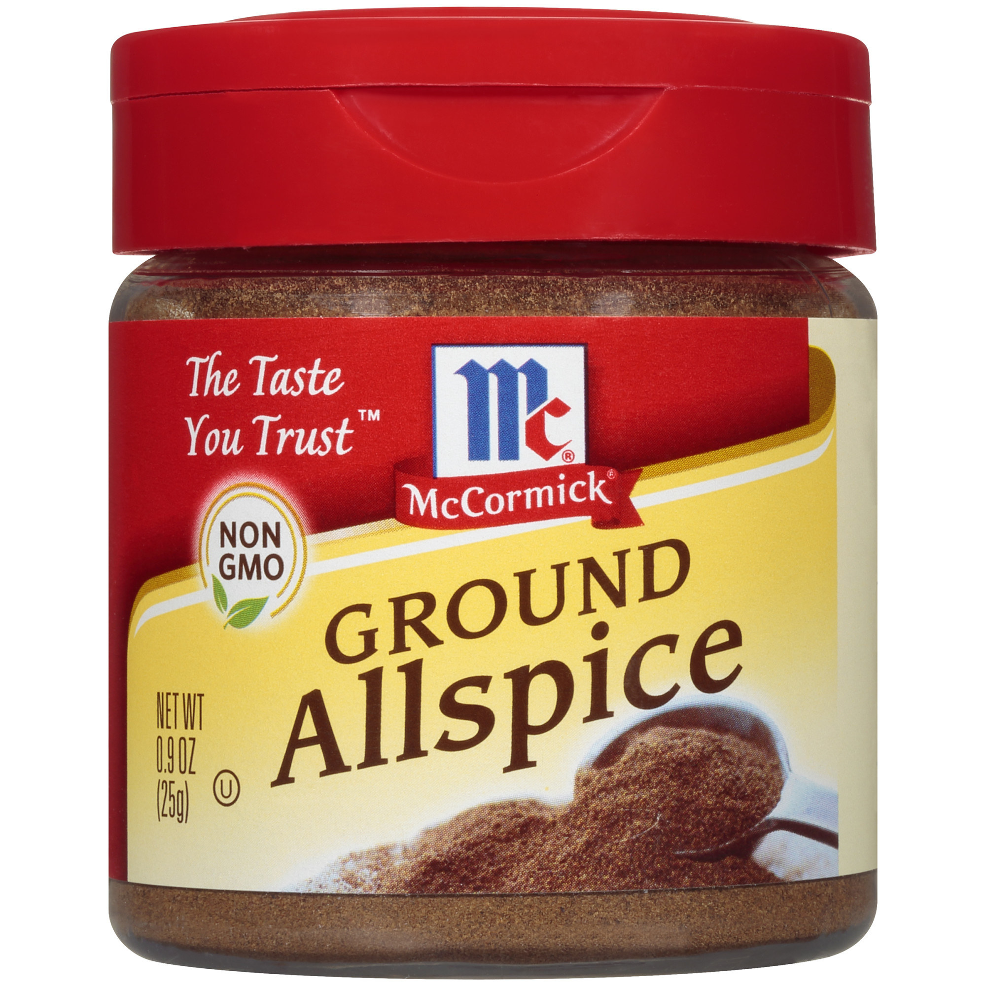 A container of ground allspice
