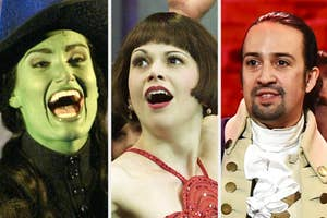 Wicked, Thoroughly Modern Millie, and Hamilton
