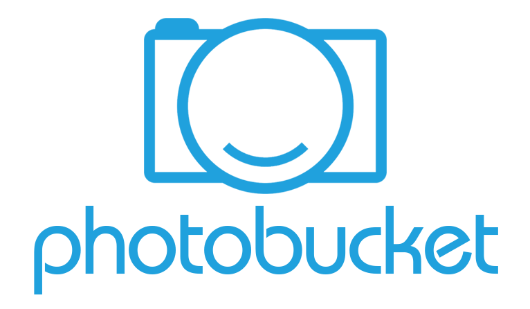 The Photobucket logo in light blue with a white background.