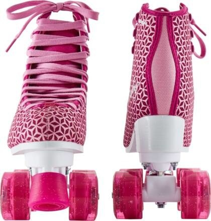 A pair of the Tempish Pinky Roller Skates