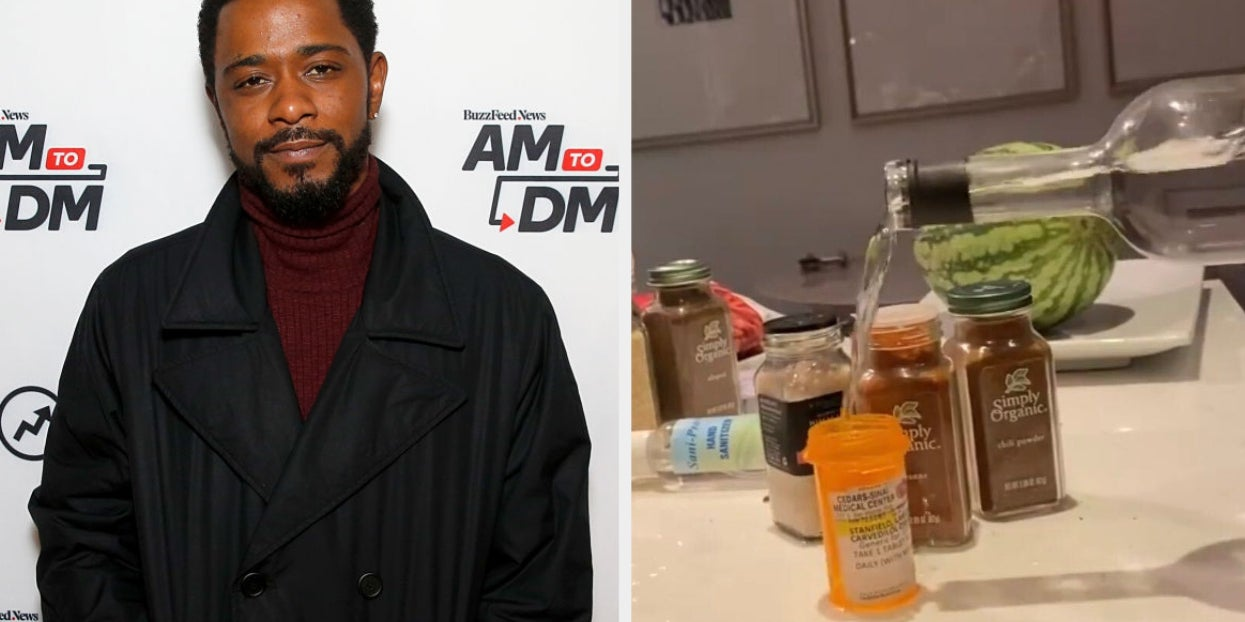 """Image of article 'LaKeith Stanfield Assured Fans He's """"Ok"""" After Posting Alarming Videos With Prescription Pill Bottles'"""